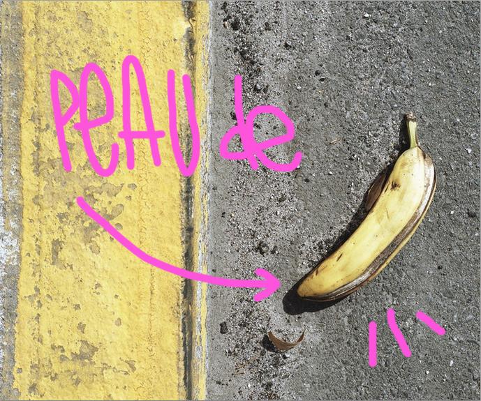 Précieuse peu de banane (astuces)
